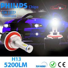 Qeedon lastest design newest car led light 12/24v headlight motocyle