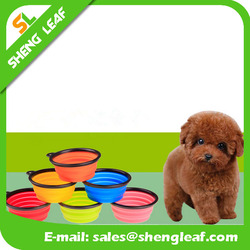 Collapsible Dog Bowls Portable Silicone Pet Bowls