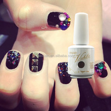 MYRNA soak off uv color nail gel private label gel nail polish cheap LED gel wholesale