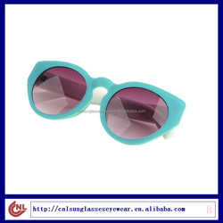 New design plastic frame cheap fashion sunglasses