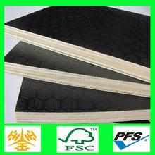 18mm waterproof construction materials/film faced shuttering anti-slip plywood