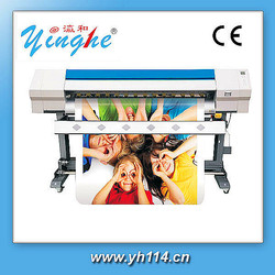 High definition 1800mm printer with bubble free pvc vinyl