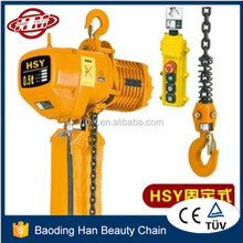 HSY type 1/2 t electric chain hoist 500kg best price