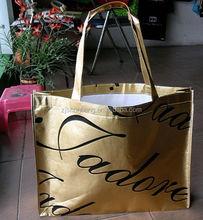 2015 cheap non woven recycle bags/ cute reusable bags/ diaper bag with non woven polyester