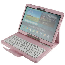 Leather keyboard case tablet for samsung T800 10 inch
