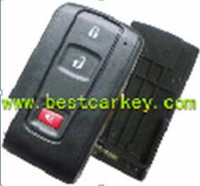 2+1 smart key cover without emergency key blade for Toyota Prius key smart key toyota