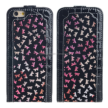 alibaba China factory Ultra slim PU leather cell phone case for iPhone 6
