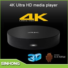 2015 New Products Measy B4A S812 Quad Core 2GB RAM 8GB ROM Ultra HD 4K Android TV Box