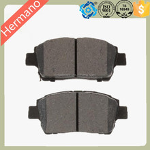 Made In China Brake Pad Disc Brake for D822 For TOYOTA OE044650D020 044650W050 044650W080 0446512580