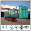 Factory Supply 3 Axles Cargo Transport Truck Trailer