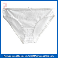 Women White Comfortable Underwear Lady Panty 016