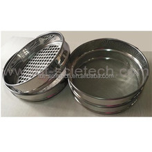 Different opening size Woven wire test sieve