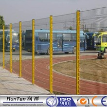 PVC Coated with galvanized wire 3D Curved wire mesh fence in Europe popular style 4/5mm x 200x50mm