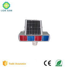 emergency warning solar road traffic flashing light