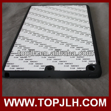 Soft Rubber Cover for iPad Air with Sublimation Metal insert