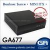 GA677 Thin Computer Case for Digital Signage