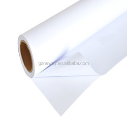 printable film material laminated from functional layer, adhesive layer and silicon paper/vehicle sticker