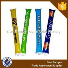 White cheer sticks suit for game pvc cheer stick