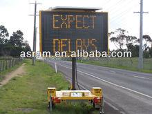 VMS Australian standard Super brightness solar traffic arrow signs led solar construction signs solar traffic trailer signs