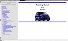 WorkShop Manual Ford Motor Company USA 2006-2012