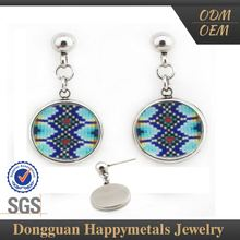 Direct Price 2015 New Design Sgs Cloisonne Earrings