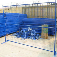hot sale Canada standard Portable Construction Metal Temp Movable Fence / Temporary Welded Metal Fence Panels for Sale ( factory