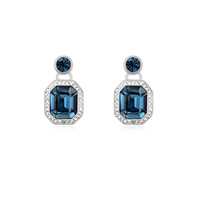 9289 luxurious pendant jewelry pressed earrings