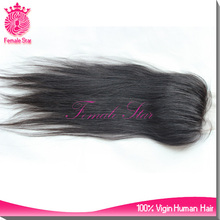 Alibaba factory cheap lace front closure 8-26inch quick opening indian human hair closure