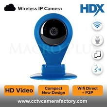 New Stylish 720P HD IR Cut IP WIFI Mini Home Security Camera