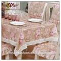 Toalha de mesa florida, toalha de damasco tecido, toalha de tecido grosso