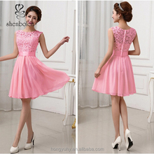 Wholesale Factory Price Sexy Women's Mini Dress Wedding Bridesmaid Prom Party cocktail Evening Short Formal Dress