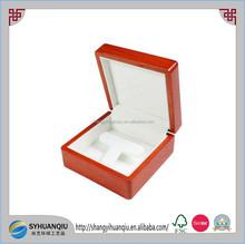 Luxury PU Leather Wooden Jewelry box Ring Box Jade Box Jewelry Case