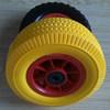 garden cart wagon flat fee wheel and plastic trolley wheel 3.00-4