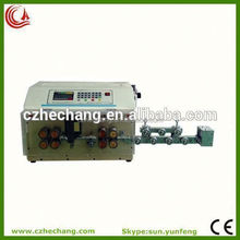battery cables and power cords stripping and cutting machine