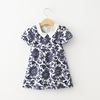 MS63616C summer two styles kids dress girls clothes wholesale