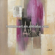 Abstract oil painting peru wall art