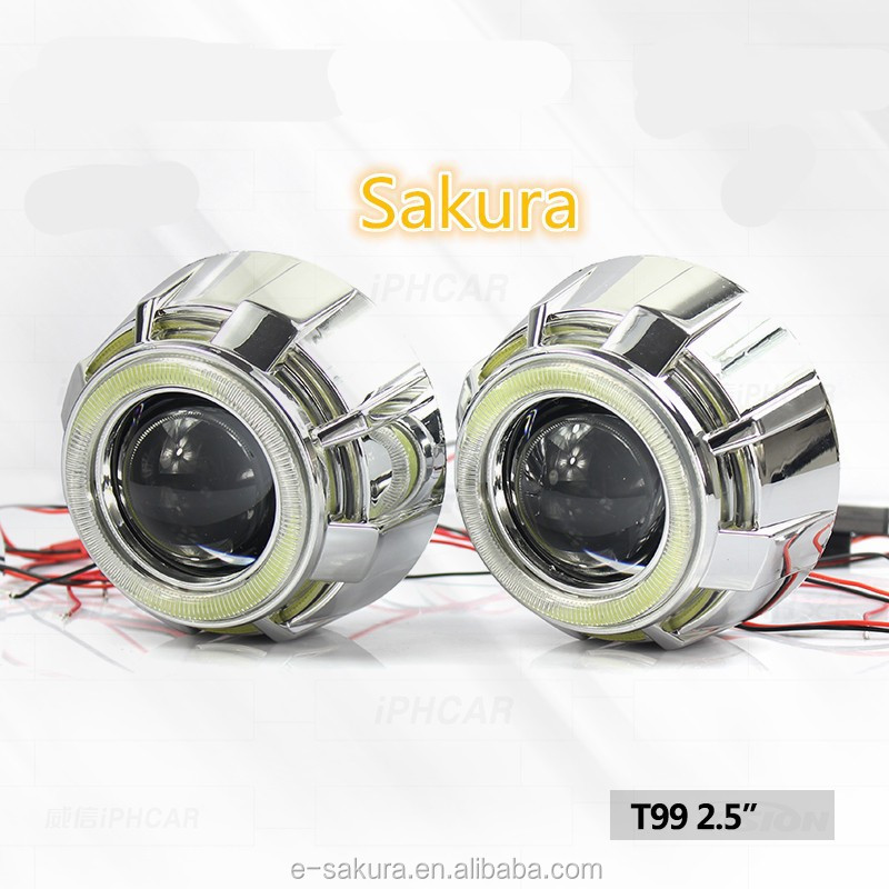 high power 45w angel eyes h7 car led headlight for bmw e39. Black Bedroom Furniture Sets. Home Design Ideas