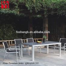 de metal de madera mesa de juegos de ocio al aire libre muebles de jardín