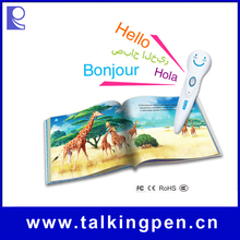 OEM/ODM Eco-friendly Material Talking Pen of Educational Toy with Books