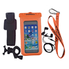 promotional clear unique pvc waterproof diving bags for cellphone with armband