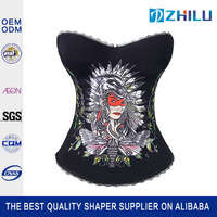 New Promotion personalized women vest latex sport waist shaper corset