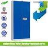 Full high 2 door knock down metal combination lock filing cabinet