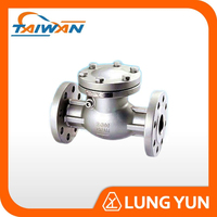 DN150 STAINLESS STEEL FLANGE END NATURAL GAS NOZZLE CHECK VALVE