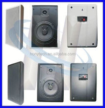 "5.25"" 6W Plastic Cabinet Speaker Box Mini Sound Portable Speaker"