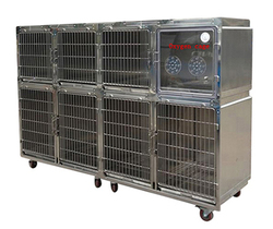 stainless steel large dog kennel cage