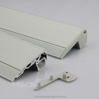 stair led aluminum profile for led strips step aluminum led profile for cinema