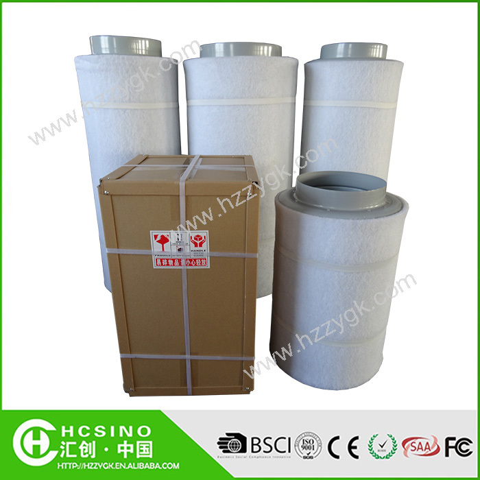 Carbon Air Filters Commercial : Industrial air purifier hydroponic activated carbon