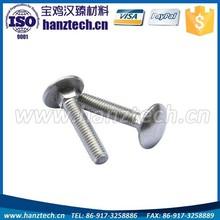titanium round head cap screw