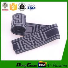 Alta tenacidad de nylon ropa interior personalizada jacquard cinta elástica