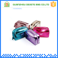 PU material waterproof and durable personalized cosmetic bags